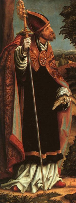 Ханс Бургкмайр Старший. Святой