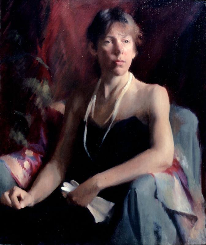 Мэри Минифи. Женщина с перчатками