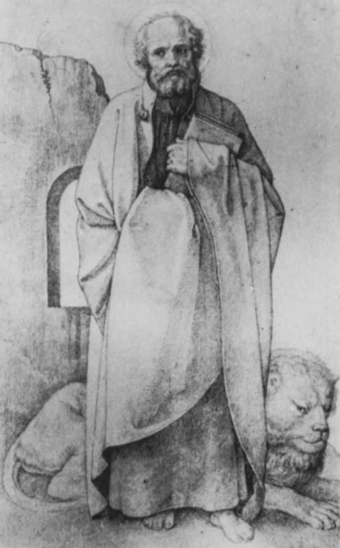 Иоганн Фридрих Овербек. Евангелист Марк