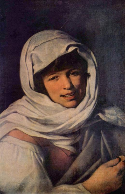 Бартоломе Эстебан Мурильо. Девушка с монеткой