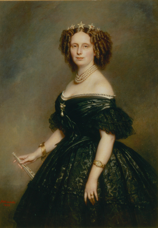 Franz Xaver Winterhalter. Princess Sophia Frederica Mathilde Wurttemberg