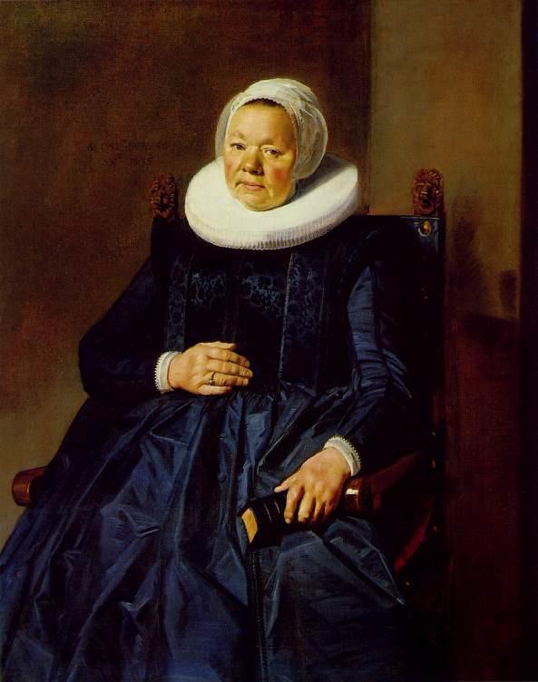 Франс Халс. Портрет женщины