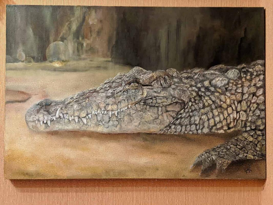 Natalia Kupreychenko. Crocodile