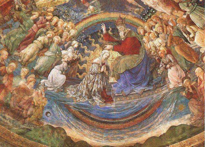 Fra Filippo Lippi. The Coronation Of The Mother Of God