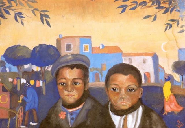 Salvador Dali. Two Gypsy boy