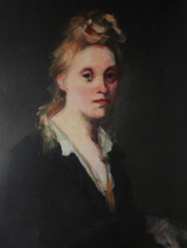 Константин Иванович Рудаков. Портрет жены художника