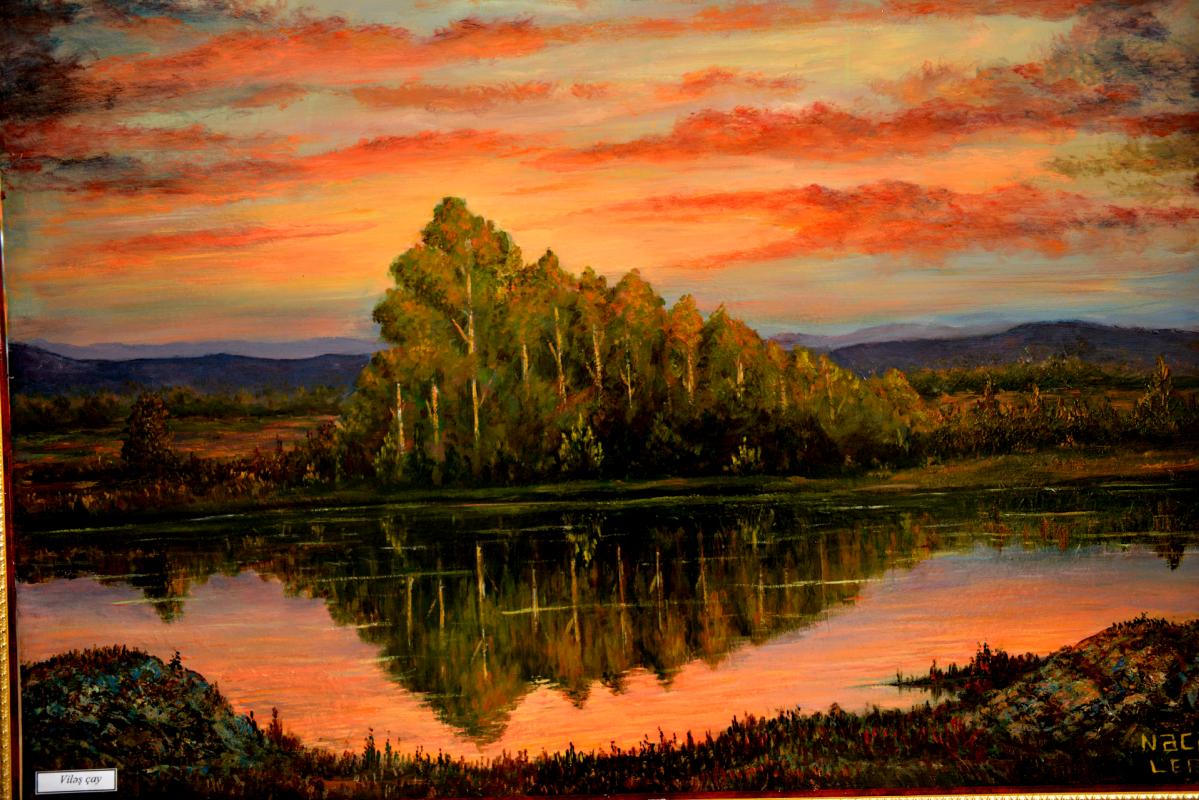 Najaf Mamedali oglu Mamedov. River miles