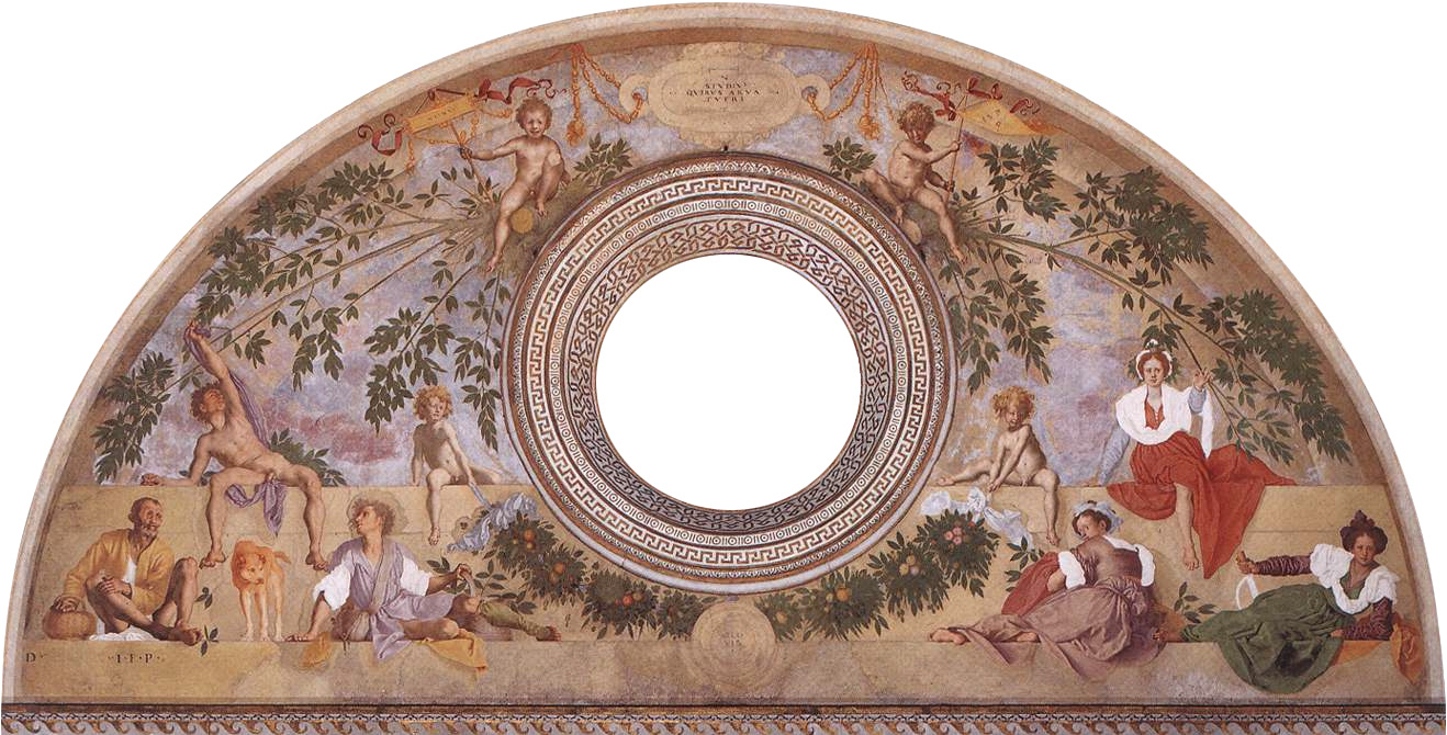 Jacopo Pontormo. Vertumn and Pomona