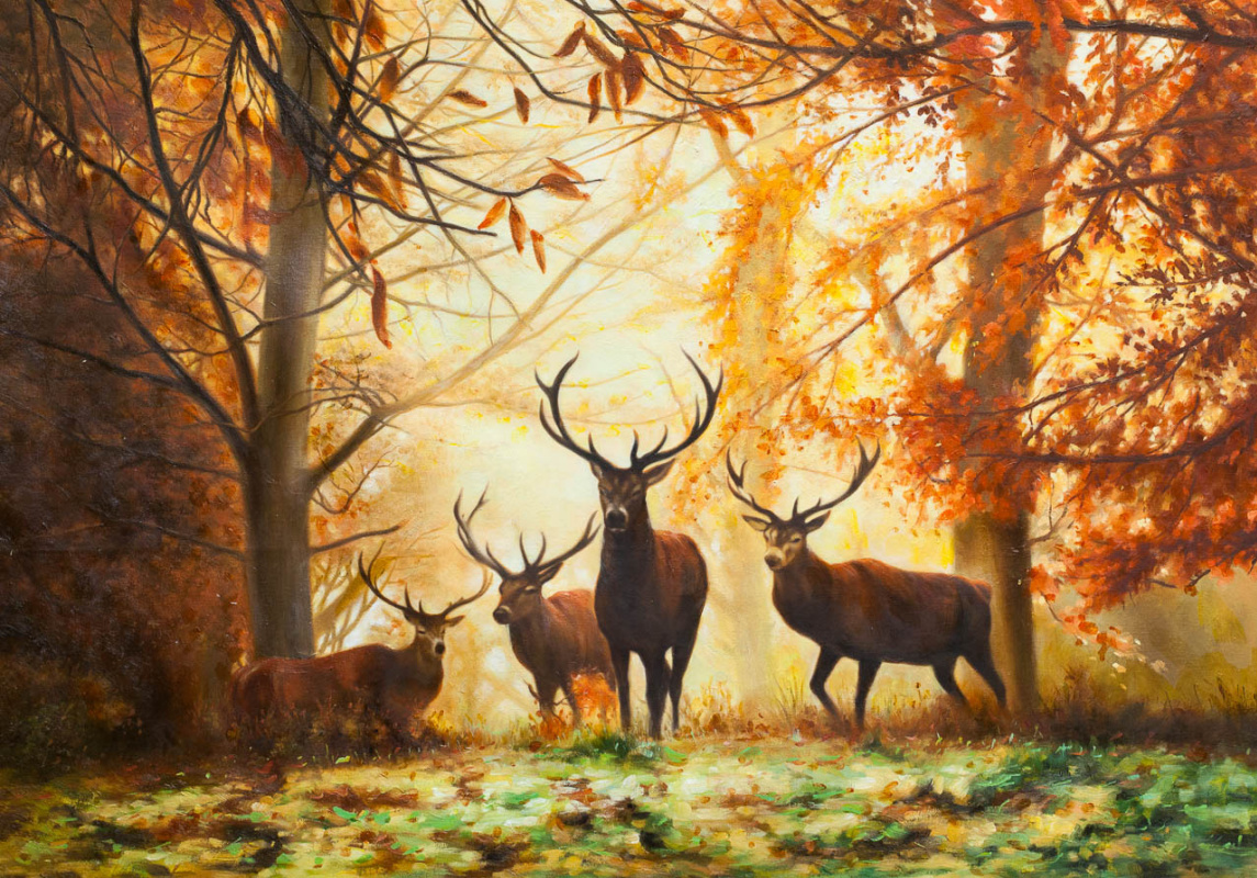Savely Kamsky. Autumn on a deer trail