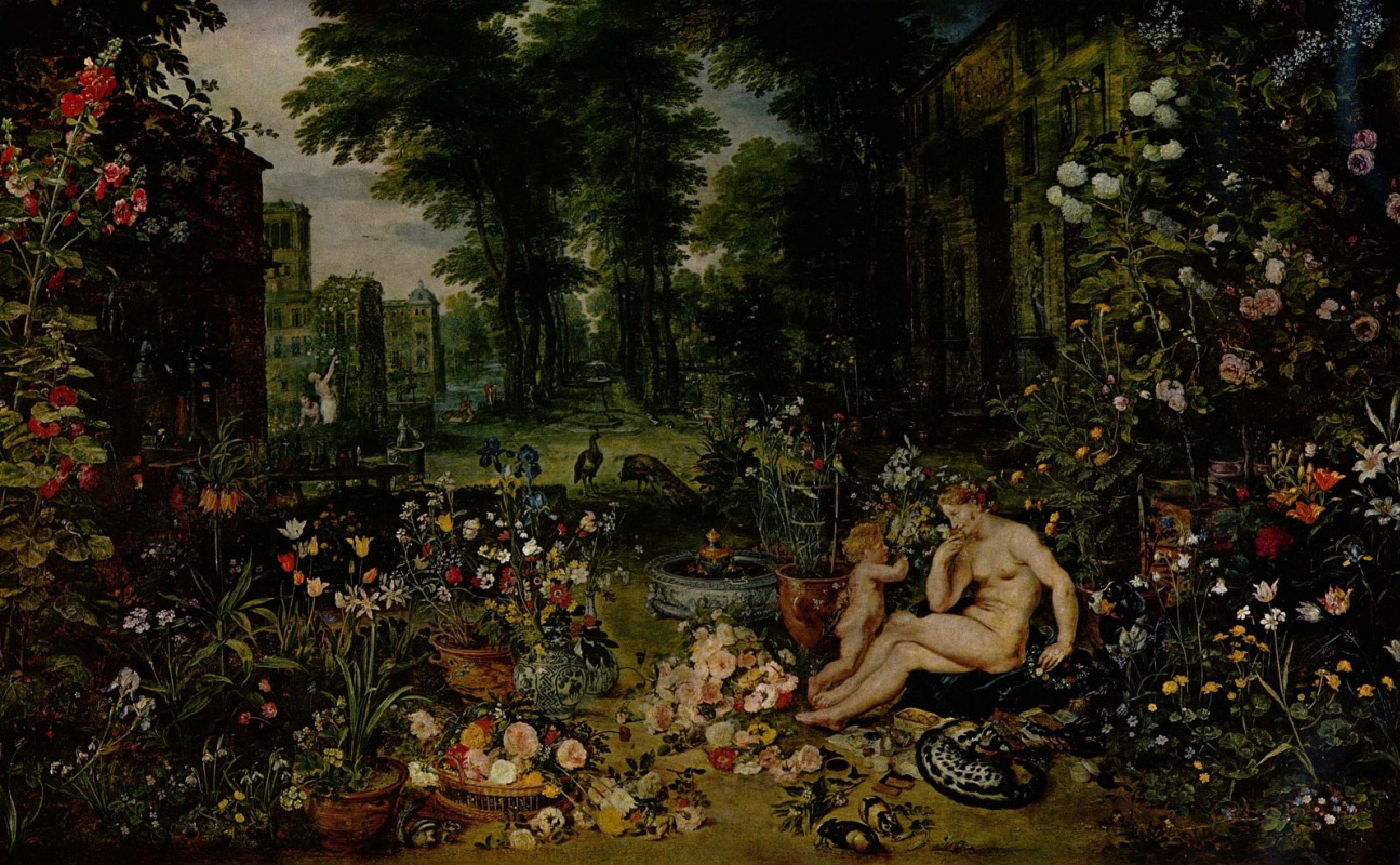 Jan Bruegel The Elder. Hearing