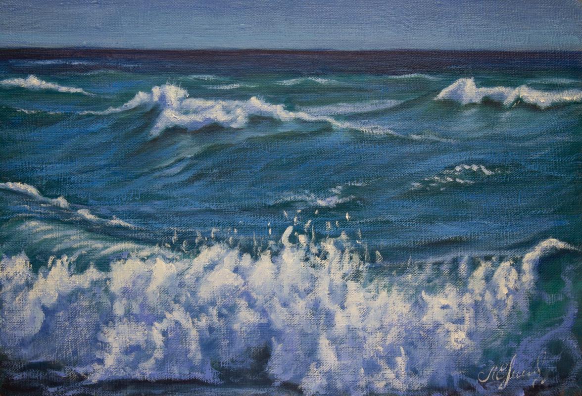 Valery Levchenko. № 608 Морской пейзаж.