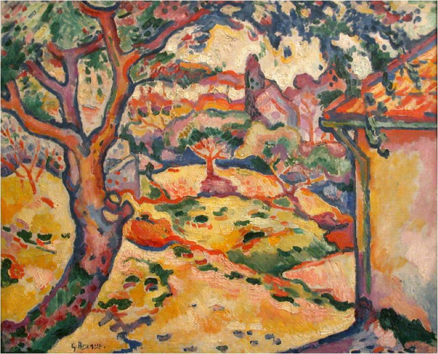Georges Braque. Olive tree near l'estaque