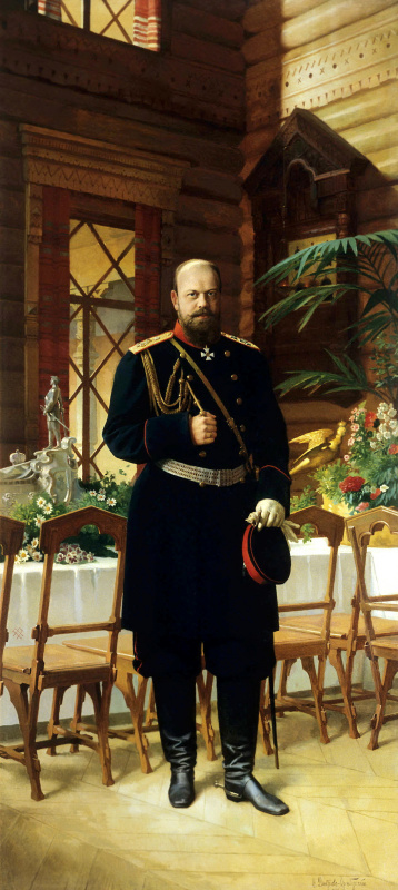 Николай Дмитриевич Дмитриев-Оренбургский. Портрет императора Александра III