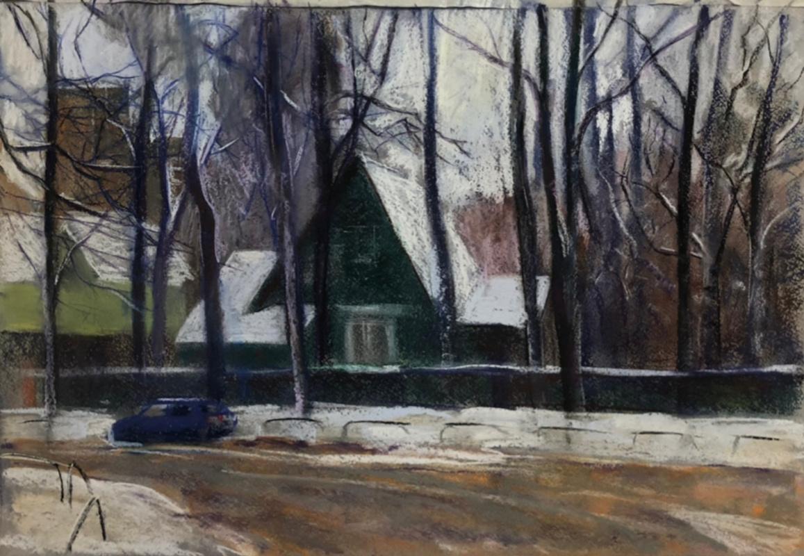 Marina Martynova. Walk around the village of Artists