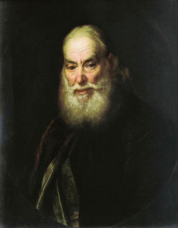 Дмитрий Григорьевич Левицкий. Портрет священника Г.К. Левицкого