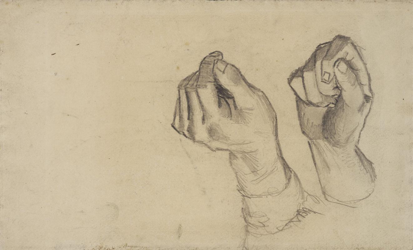 Vincent van Gogh. Two hands
