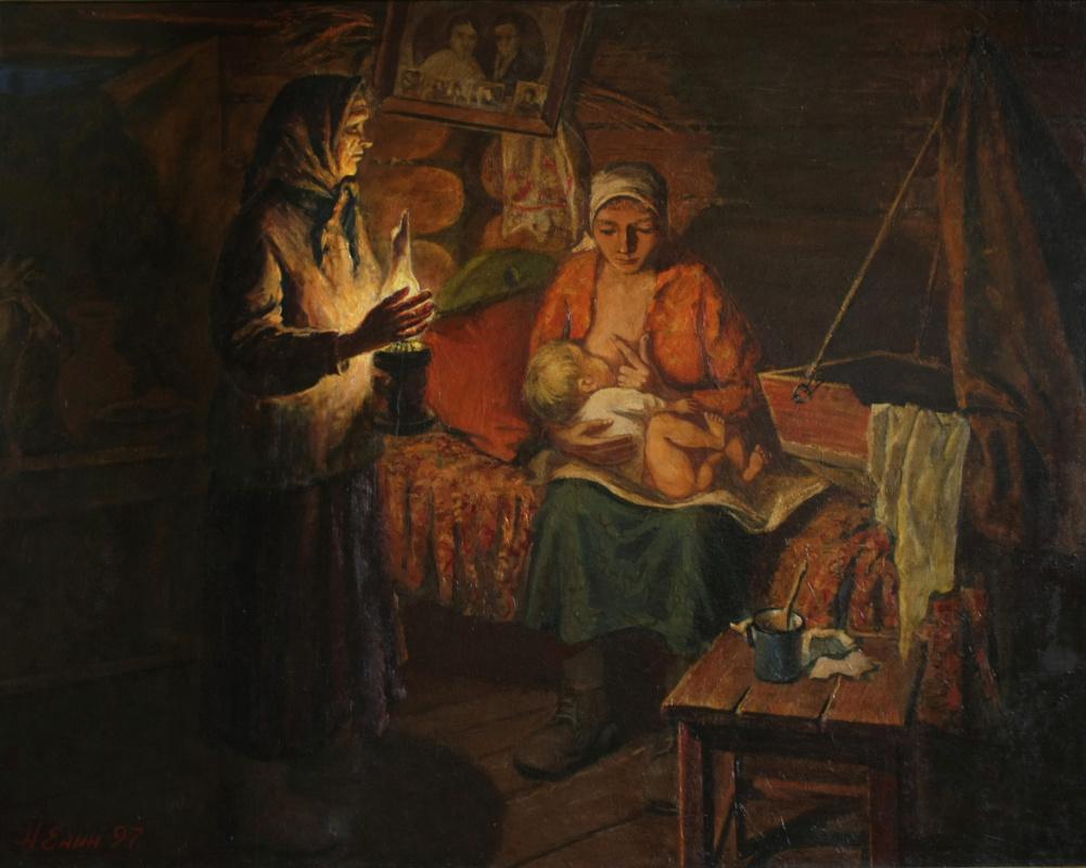 Николай Алексеевич Енин. Матери