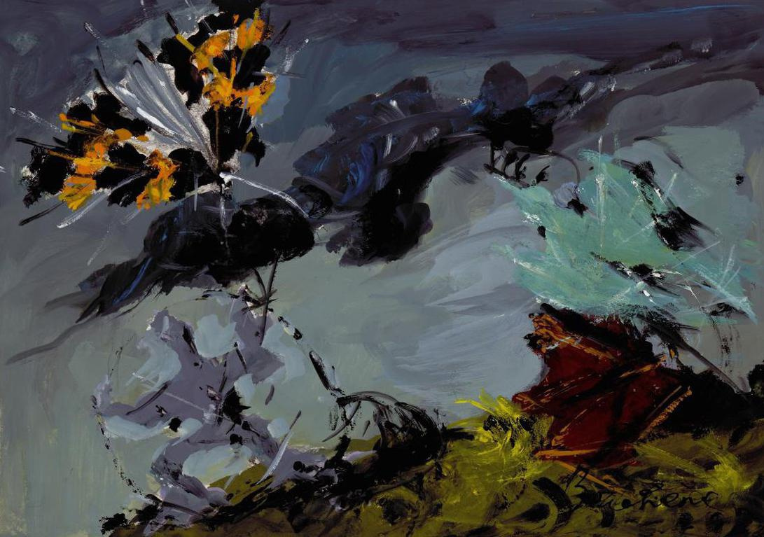 "Dmitry Dmitrievich Bushen. Sketch curtain for ""Fantastic Ballet""."