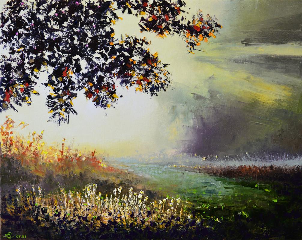 Vadim Anatolyevich Stolyarov. The light of the misty sun
