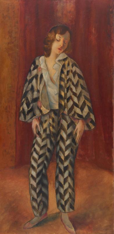 Joseph Eberz. Dancer (Beatrice Mariagraete)
