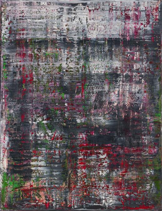 "Gerhard Richter. Cycle ""Birkenau"" III"