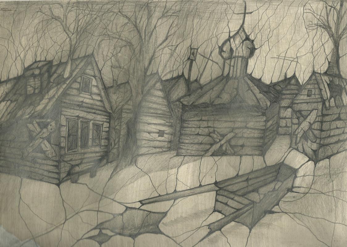 Alexandr Glukhov. Abandoned village