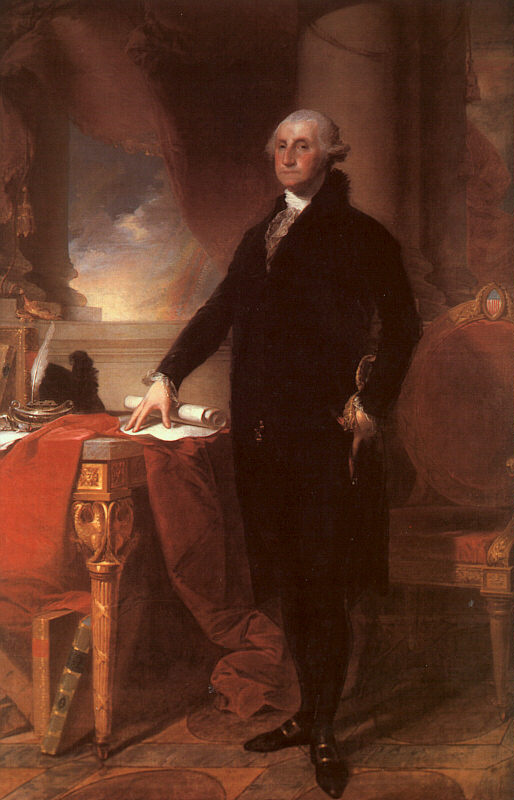 Gilbert Charles Stewart. George Вашингтон3