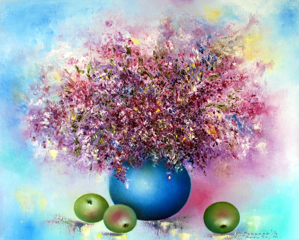 Margarita Eduardovna Prozorova. Lavender bouquet