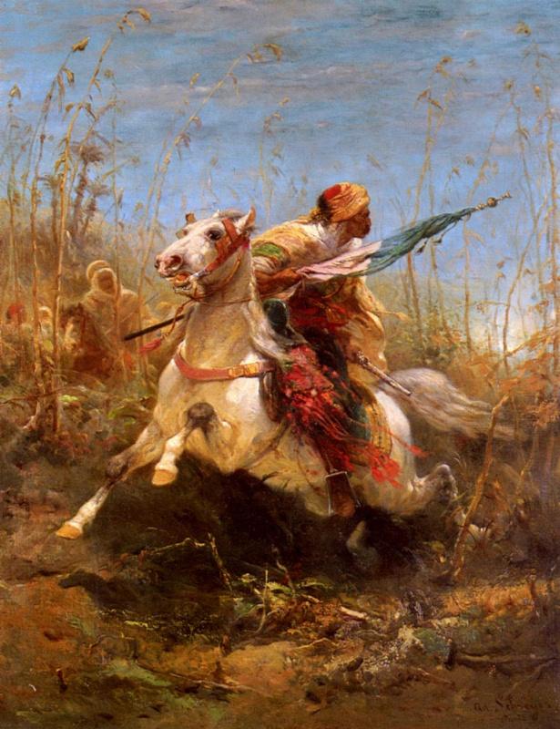 Адольф Шрейер. Арабский воин ведущие сбор