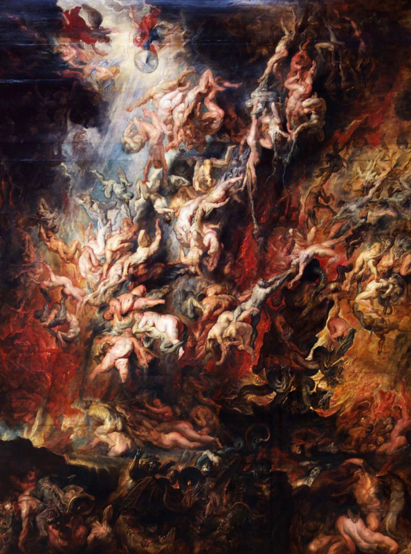 Peter Paul Rubens. The fall of the rebel angels