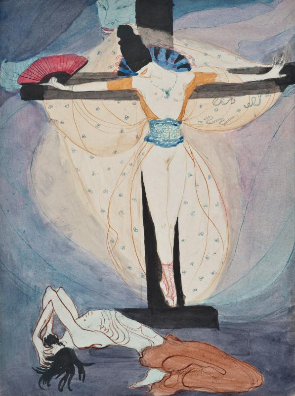 Жанна Маммен. Женщина на кресте