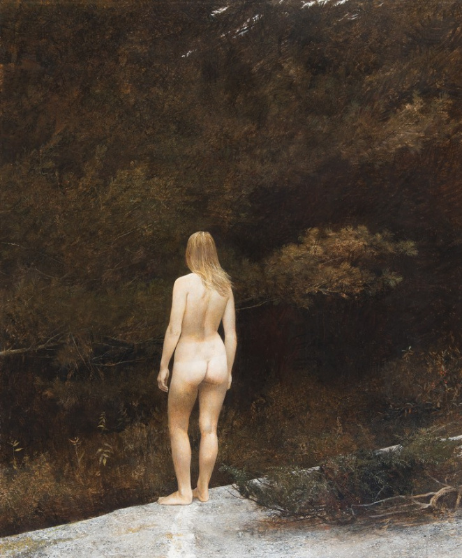 Andrew Wyeth. Indian summer