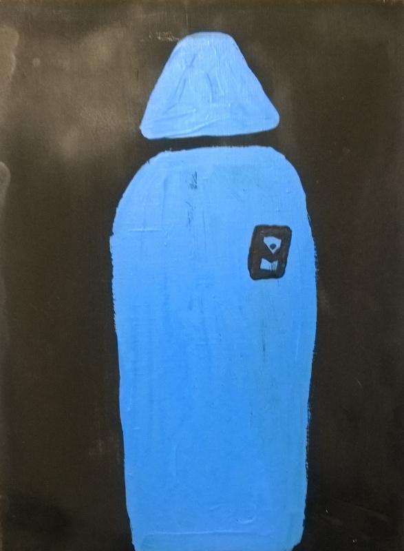 Алан Орешенков. Человек в голубом плаще.
