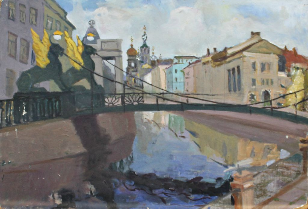 Leo Nikolayevich Orekhov. Bank Bridge