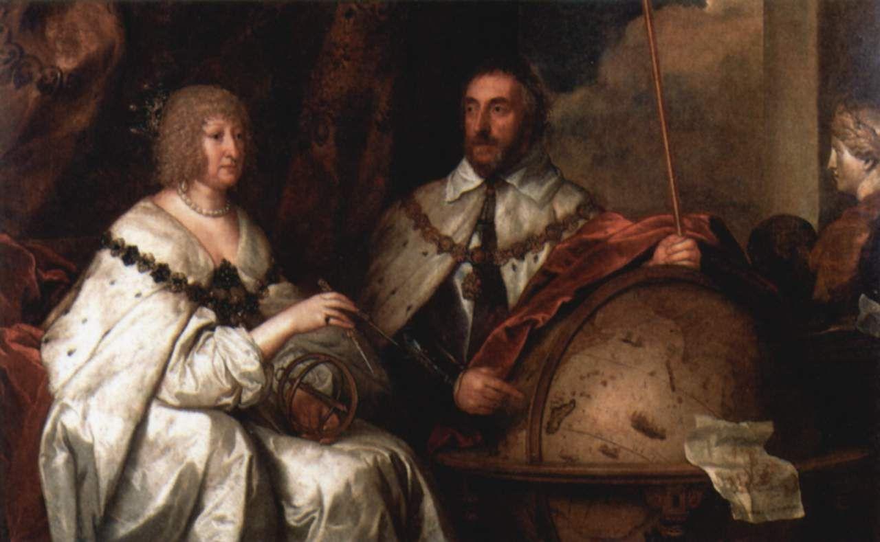 Антонис ван Дейк. Портрет графа сэра Томаса Ховарда с супругой