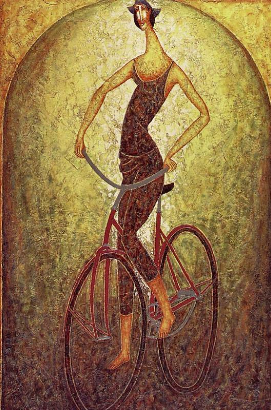 Арманд Кот. Велосипедист