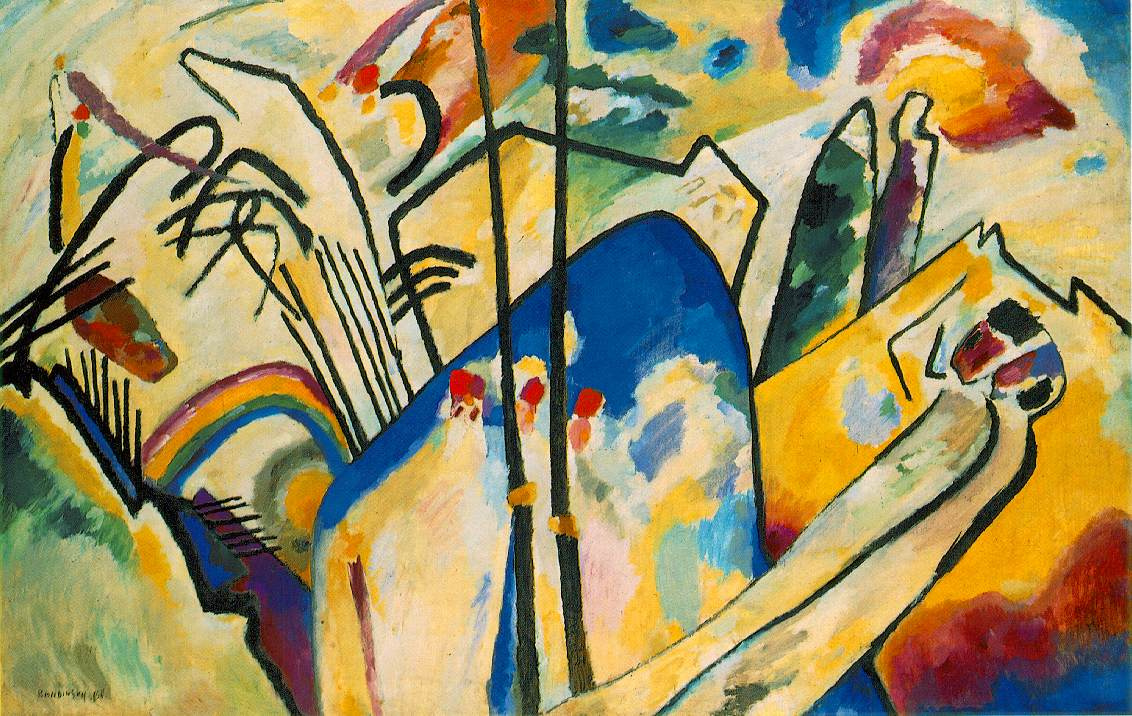 Wassily Kandinsky. Composition 4