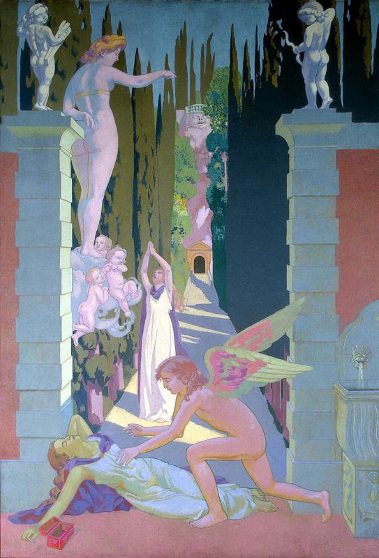 Maurice Denis. The vengeance of Venus
