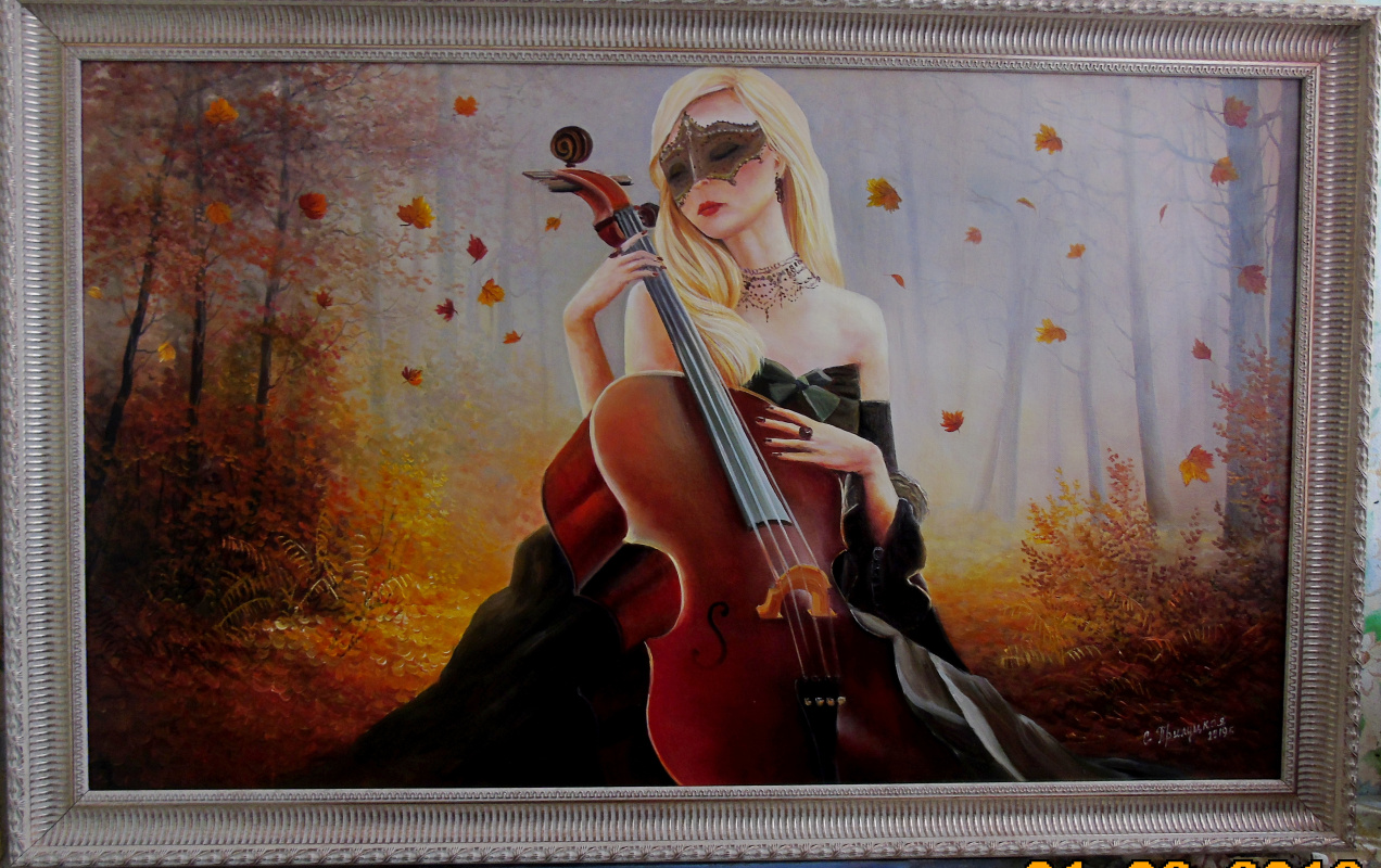 Cvetlan Vasilyevna Prilutskaya. Melody of autumn