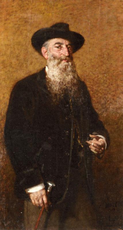 Эгисто Ланцеротто. Портрет итальянского художника