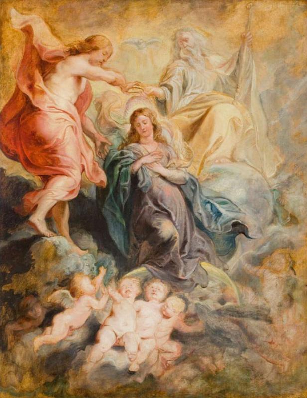 Питер Пауль Рубенс. Коронация Девы Марии (эскиз)