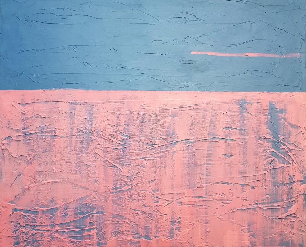 Natalya Sintsova. Reflection of the sunset