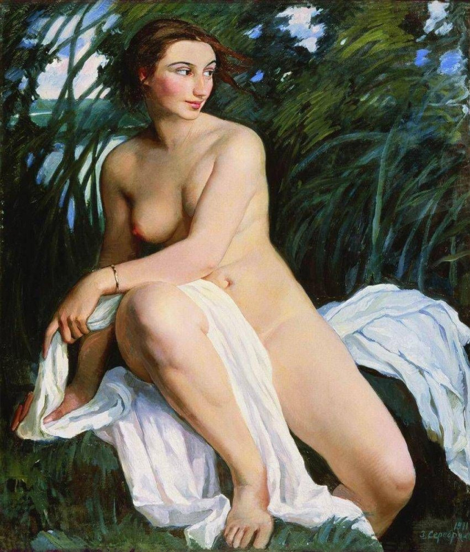 Zinaida Serebryakova. Bather