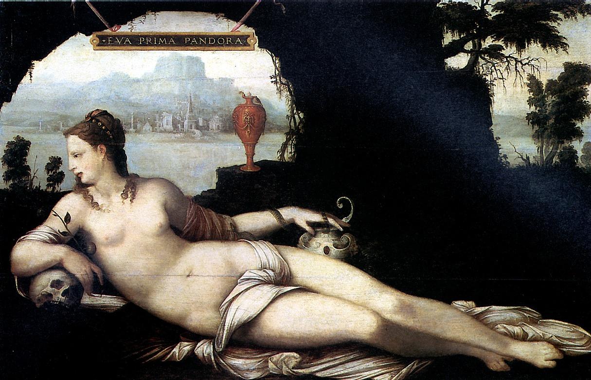 Жан Кузен. Ева — первая Пандора