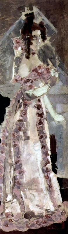 Михаил Александрович Врубель. Портрет жены Надежды Ивановны Забелы-Врубель