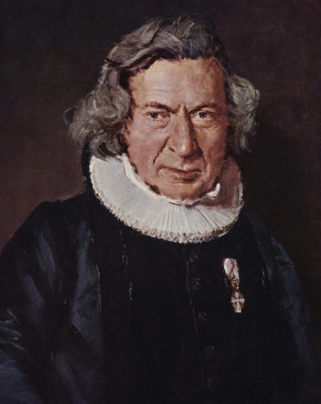 Кристиан Альбрехт Йенсен. Портрет доктора Г. Рудельбаха