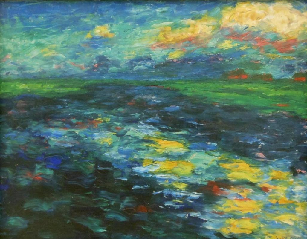 Emil Nolde. Lake