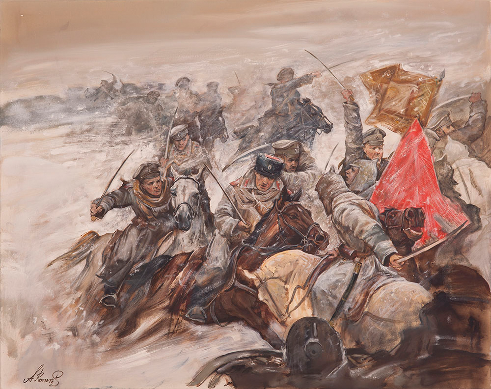 """Andrey Romasyukov. The story of Cain and Abel. Fights on the Don at Christmas. Series """"From the Great War to the Great Troubles"""""""