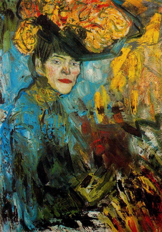 Пабло Пикассо. Женщина в ложе