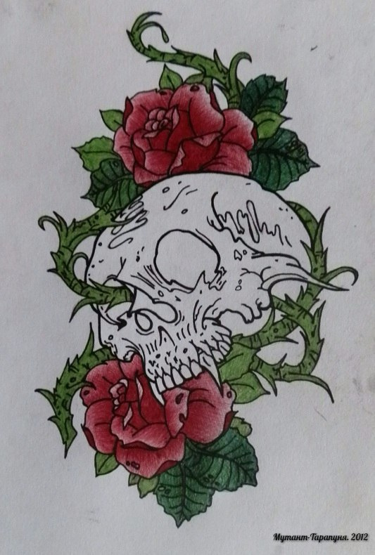 Alexey Olkhovatsky. OldSkul - Skull